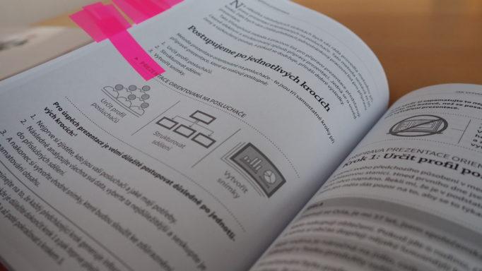 Autorky oblíbený vizuál prezentace orientované na posluchače na straně 76
